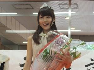 2013年度のミス共立女子大は文科2年 手塚梨加さんに決定!